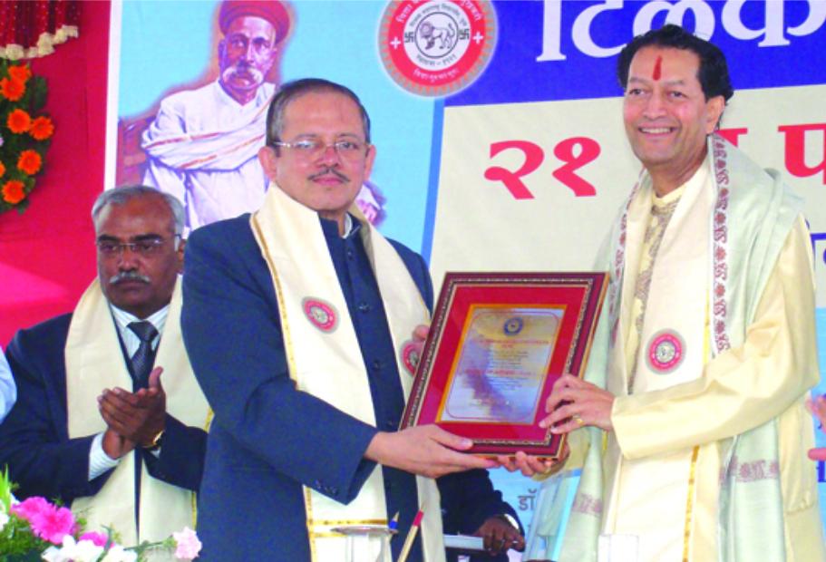 D. Litt. by Tilak Maharashtra Vidya-Peeth (Feb. 28, 2010)