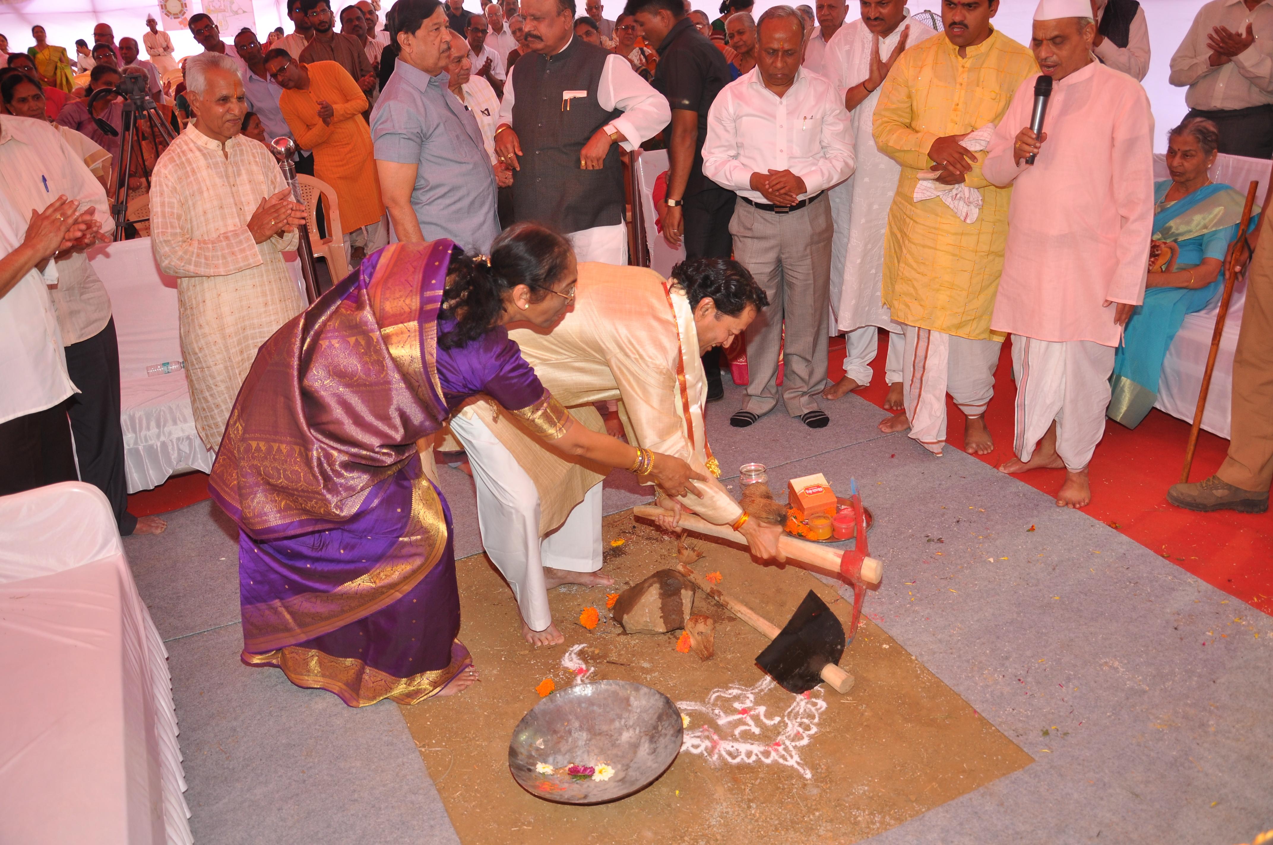 Bhoomi-Poojan (Devale)